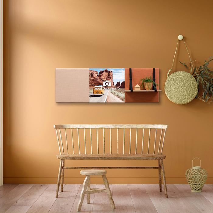 Kleurrijke wanddeco - set 3 panelen - combi 10