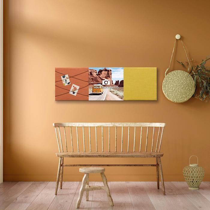 Kleurrijke wanddeco - set 3 panelen - combi 11