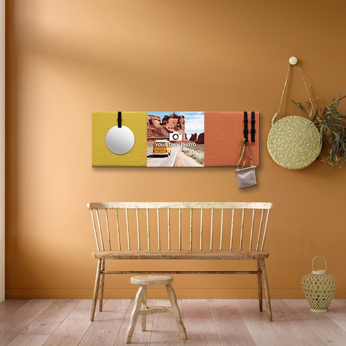 Kleurrijke wanddeco - set 3 panelen - combi 12