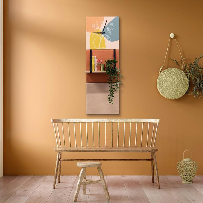 Kleurrijke wanddeco - set 3 panelen - combi 1