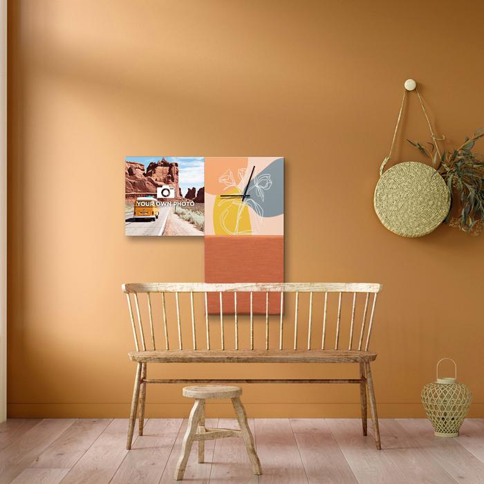 Kleurrijke wanddeco - set 3 panelen - combi 7