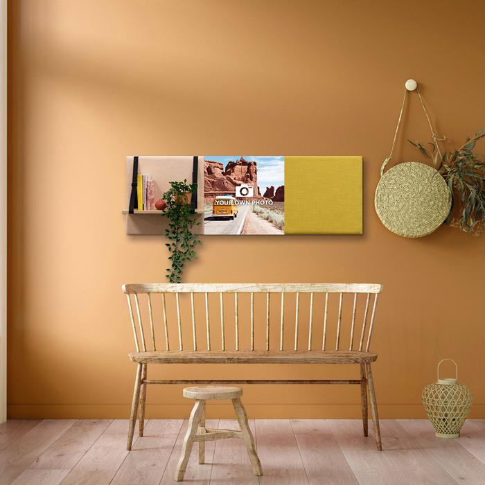 Kleurrijke wanddeco - set 3 panelen - combi 8