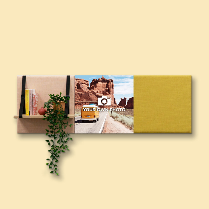 Kleurrijke wanddeco - set 3 panelen - combi 9