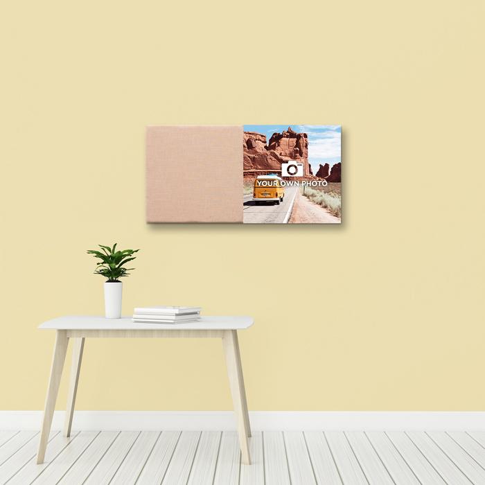 Kleurrijke wanddeco - set 2 panelen - combi 12