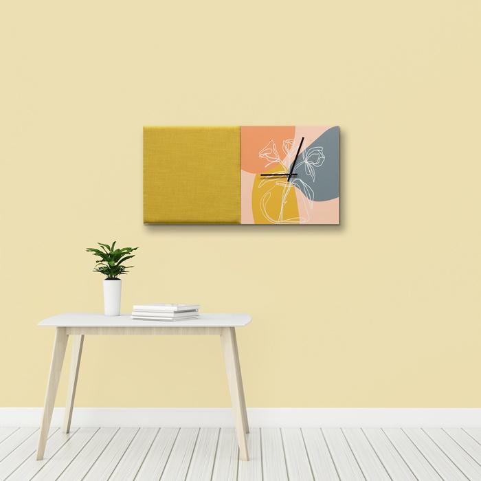 Kleurrijke wanddeco - set 2 panelen - combi 1