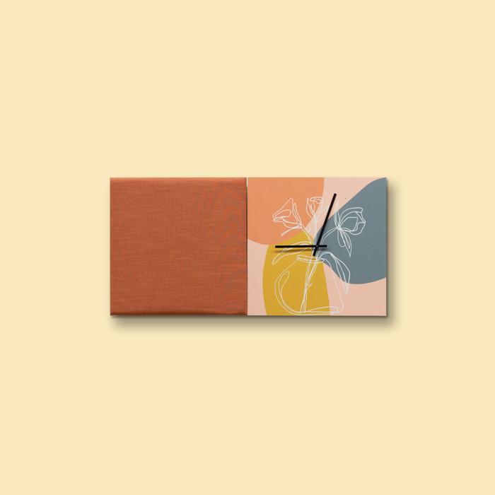 Kleurrijke wanddeco - set 2 panelen - combi 2
