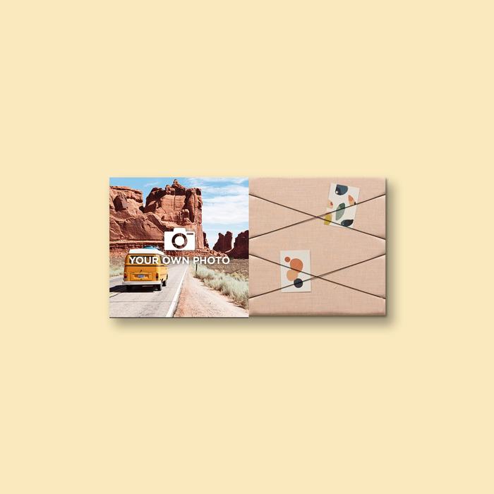 Kleurrijke wanddeco - set 2 panelen - combi 3