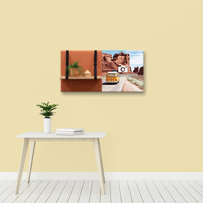 Kleurrijke wanddeco - set 2 panelen - combi 5