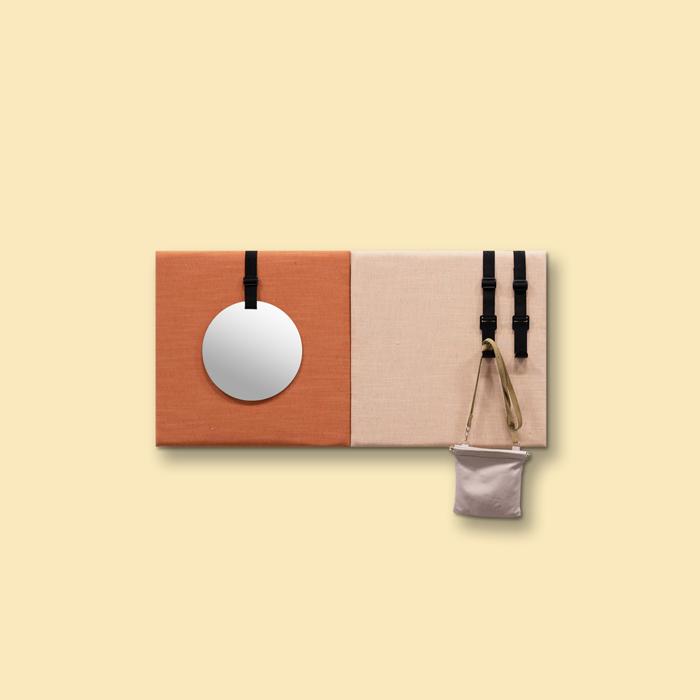 Kleurrijke wanddeco - set 2 panelen - combi 7