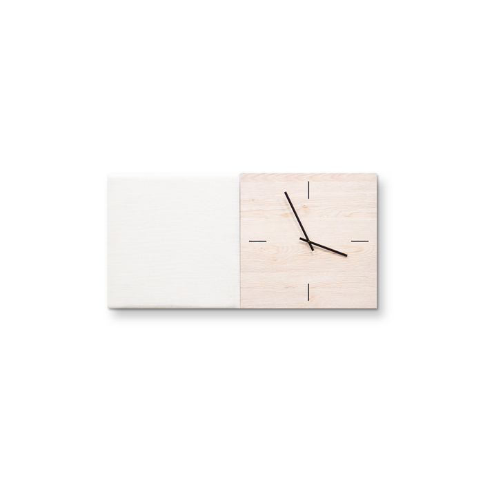 Beige (off white) wanddeco - set 2 panelen - combi 2