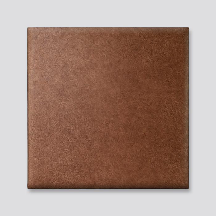 Bruine wanddeco - set 5 panelen - combi 9
