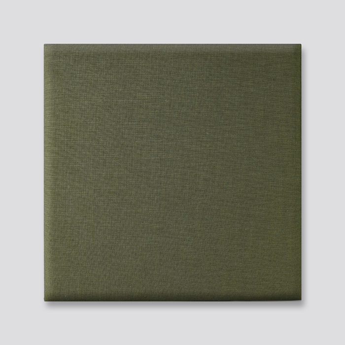 Dark Green Linen