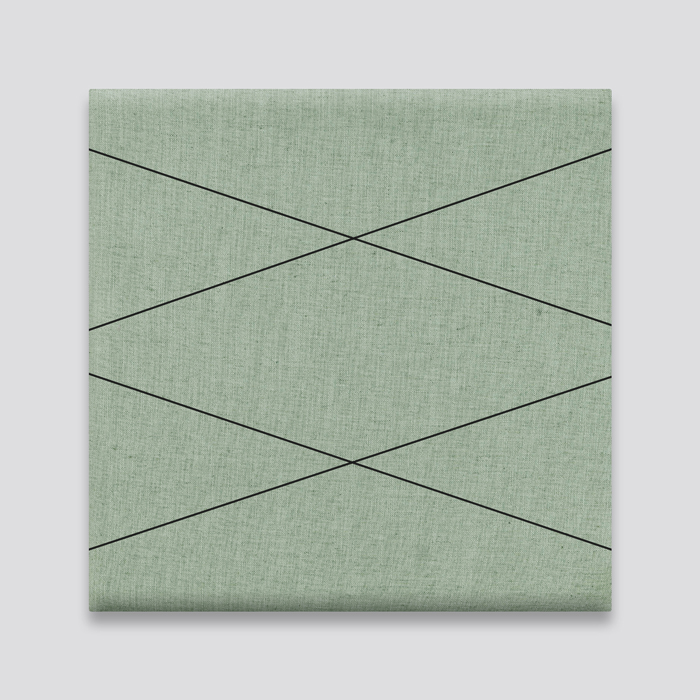 Olive Green Linen with Spider